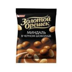Dragee Gold Nutlet almonds dark chocolate 100g