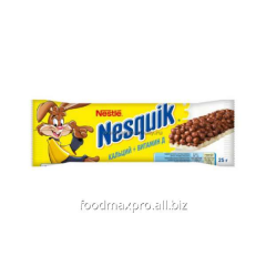 Nesquik bar with whole cereals calcium + vitamin D