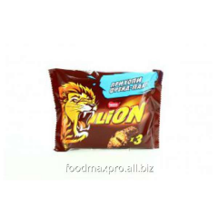 N-r Lion bars with soft caramel 3*42g of piece