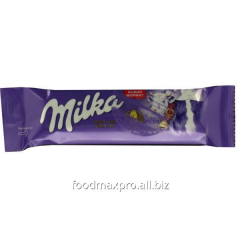 Milka chocolate a bar without additions 35g