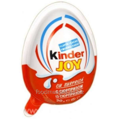 Egg chocolate Kinder of Joy with a surprise of 20