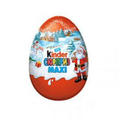 Egg chocolate Kinder Surprise of Maxi 100 g