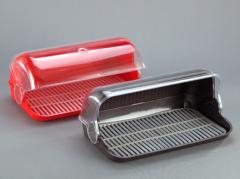 Bread boxes from the producer plastic. We work for
