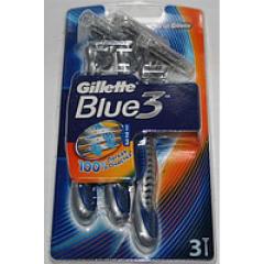 Razor disposable Gillette Blue 3 6sht/unitary