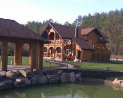Строительство деревянных домов, коттеджей, бань,