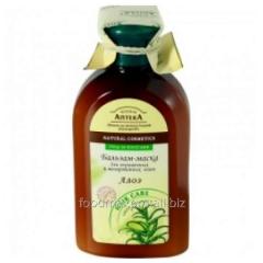 Бальзам зеленая Аптека для окрашенных мелир.волос