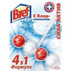 Block toilet Bref Asset Blue water chlorine