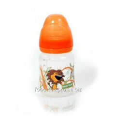 Small bottle for feeding of Baby Team wide throats