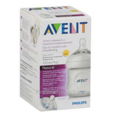 Small bottle for feeding of Avent Natural 125 of
