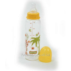Small bottle glass, TM Baby Team 250 of ml of 0+