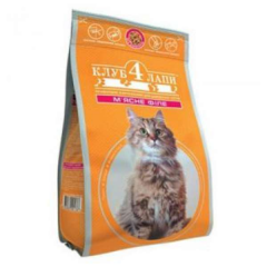 Club 4 of Lapi adult cat food meat fillet 400 of