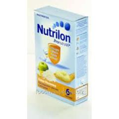 Porridge of 7 cereals Nutrilon dairy with apple