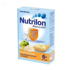 Porridge corn and rice Nutrilon of dairy 225 g
