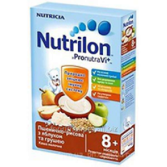 Porridge Nutrilon wheat-rice dairy with yabl and a