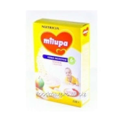 Porridge multicereal Milupa dairy with apple and