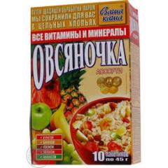 Ovsyanochk's porridge oat allsorts 10*45g