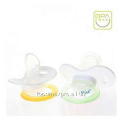 Baby's dummies 4017 silicone (3+) day isp. 2