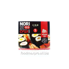 Hokkaido Club seaweed of Nori for making sushi of