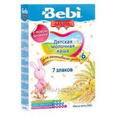 Bebi Premium 7 porridge of cereals of 200 g
