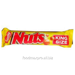 Bar of Nuts King size of chocolate 60 g