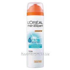 Aloe L'Oreal Men Expert shaving gel Vera of