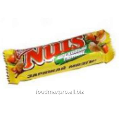 Bar of Nuts of chocolate 42 g