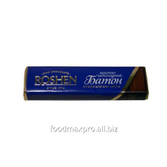 Roshen bar a pier shock with a stuffing of caramel