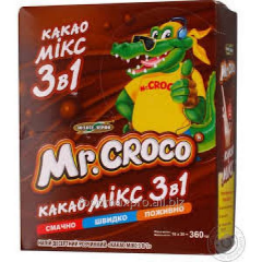 3 in 1 Mr.Croco cocoa mix of 18 g