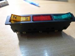 Electronic block indication module universal