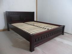 Кровать деревянная из массива ольхи