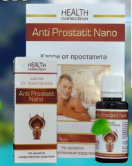 Anti Prostatit Nano - prostatitis Drops