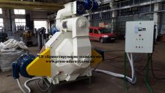 Гранулятор GRP-1.5 для переработки промышленных отходов в топливо