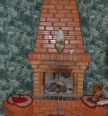 Brick ceramic corpulent M-100, M-75 (size