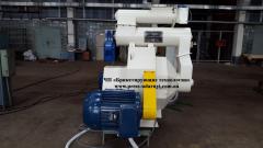Гранулятор GRP-1.5 для производства топливных пеллет