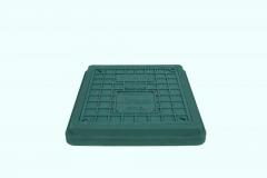 Hatch sewer A15 easy rectangular green