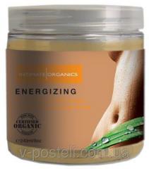 Sugar body scrub of energizing