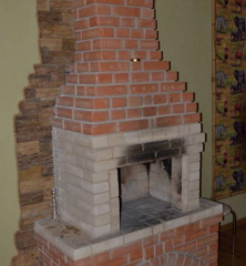 Brick corpulent clay M-100, M-75