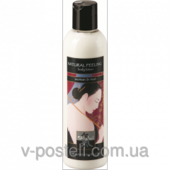 Hot body lotion - shiatsu natural feeling, for men