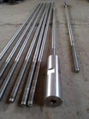 Shaft from stainless steel