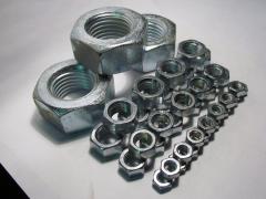 Split screw nuts