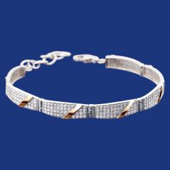 Silver bracelet Grace