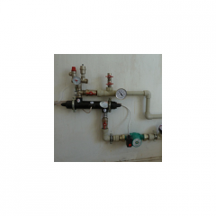 The electric water-heating module of heating