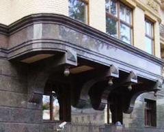 Отделка фасадов натуральным камнем - гранит
