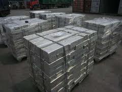 Alloy zinc - aluminum in blocks of the TsA 04, TU