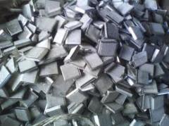 Nickel cathodic brands: N-0, N-1u, N-1, N-2, N-3,