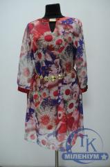 Платье женское 3/4 рукав Roserita 2182