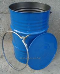 Barrel technical \at with a cover under a collar