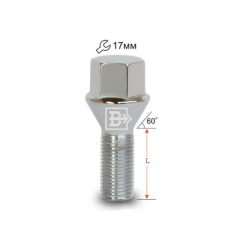 The bolt a cone 12x1,5x33 L60 is lame, a key 17