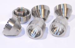 Nut 12x1,25 L16 opened zinc, a key 19 (JN-125-2)