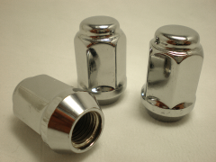Nut with long skirt 10x1,25 L35 key 19 (JN-213)